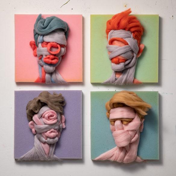 Minimal Portraits by Salman Khoshroo