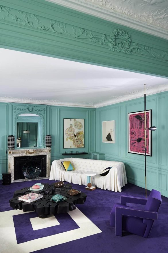 Color Combinations - Royal Purple + Seafoam
