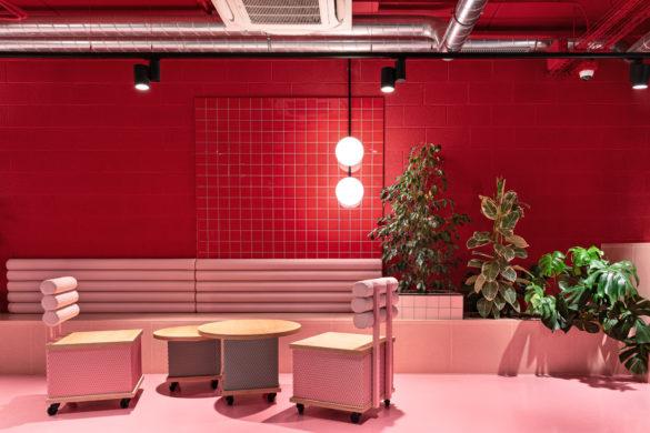 Color Blocks Interiors