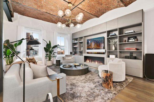 Bella Hadid's NYC Duplex