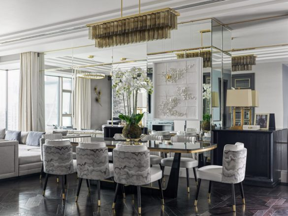 Interior Design Projects with Mirrored Walls