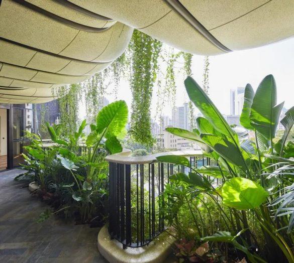 Thomas Heatherwick's Biophilic Dsign Project