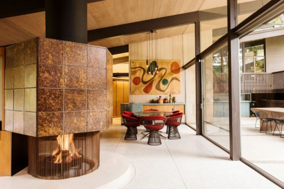 Inside Actress Robin Tunney's Home