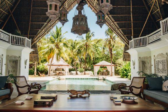 Naomi Campbell's Luxury Kenyan Villa