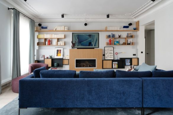 Inside a tailor-made apartment by Frédéric Crouzet