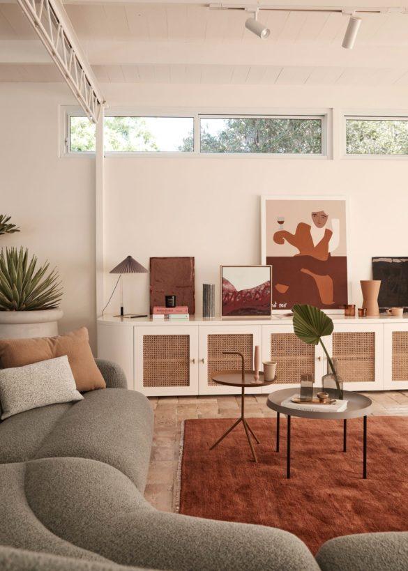 Mid-Century Home in Earth Tones