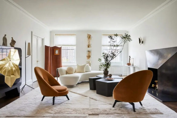 An Elegant Apartment in Manhattan by Jeremiah Brent