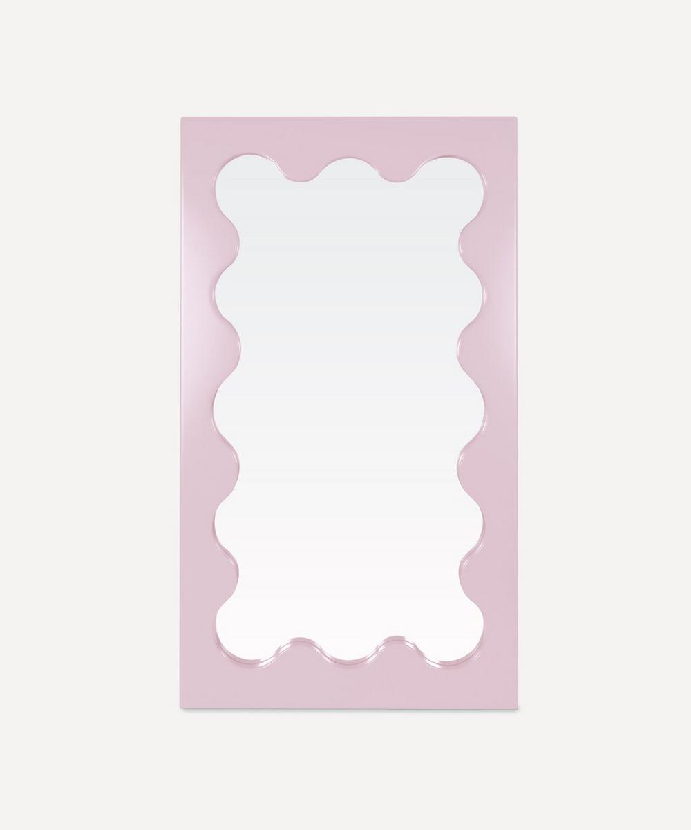 Memphis Design Furniture - Curvy Mirror by Gustaf Westman