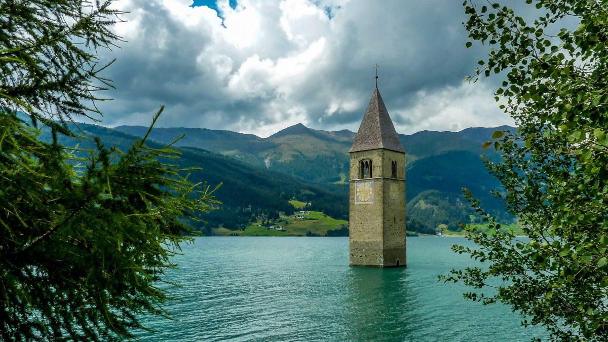 Italian Village Appears – After Long Years Underwater