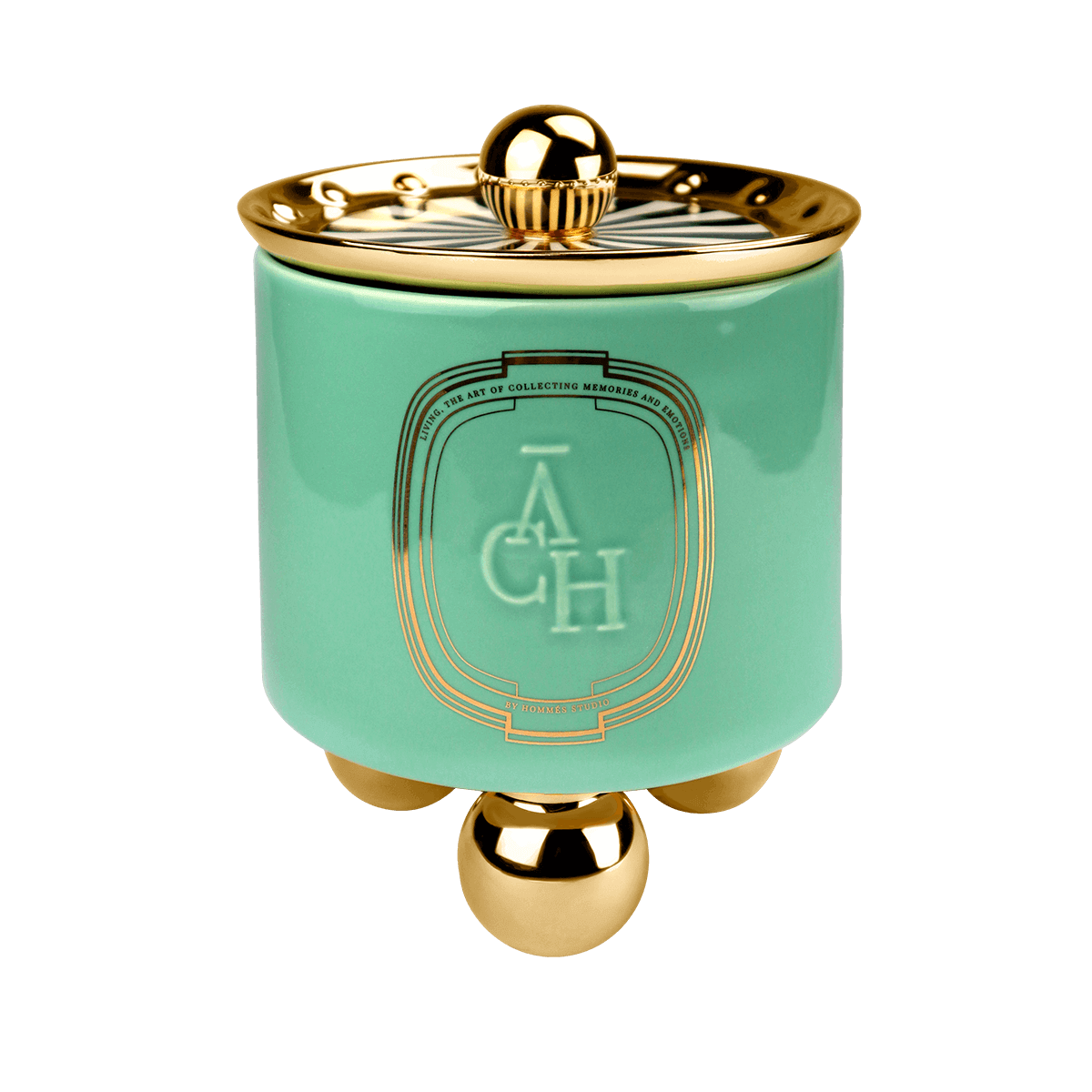 Achi Candle Green - Home Frangances by ACH Collection