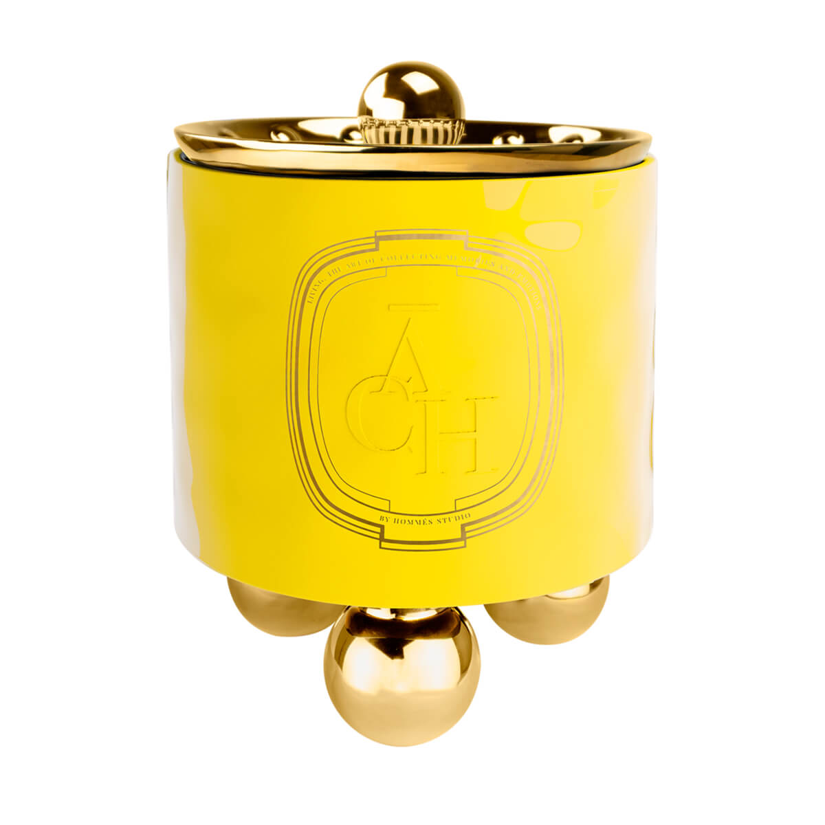 Achi Candle Yellow - Home Frangances by ACH Collection