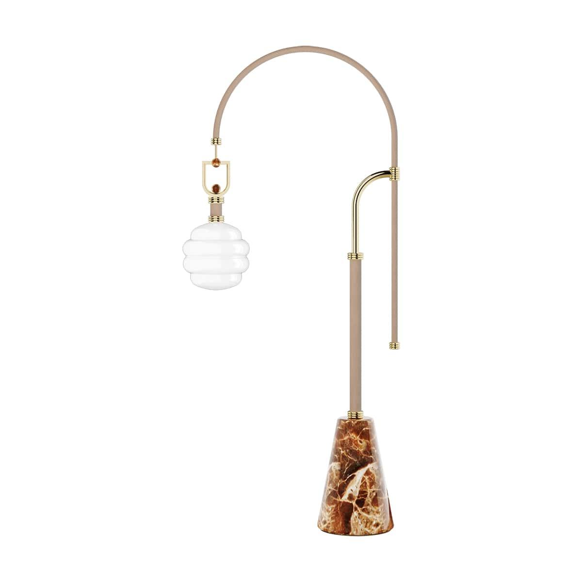 Luminous Floor Lamp - Fall Home Decor Guide
